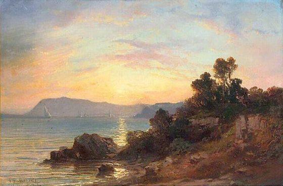 vue-de-toulon-vincent-joseph-courdouan-vers-1860-musee-ingres-montauban