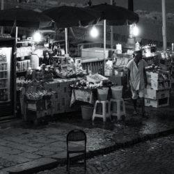 Napoli di notte – fotografie in bianco e nero