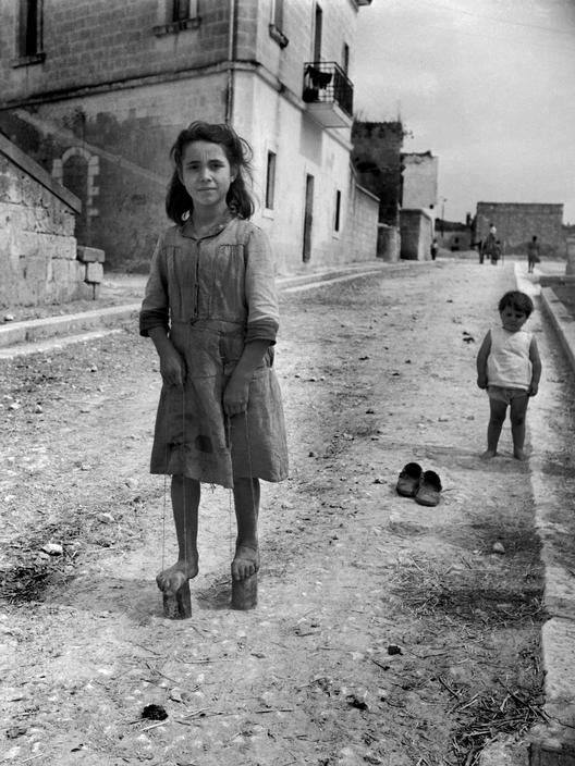 David Seymour (1911-1956) - Matera, Italie, 1948