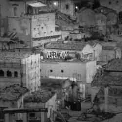 La Città di Matera la notte, la mattina poi i Sassi