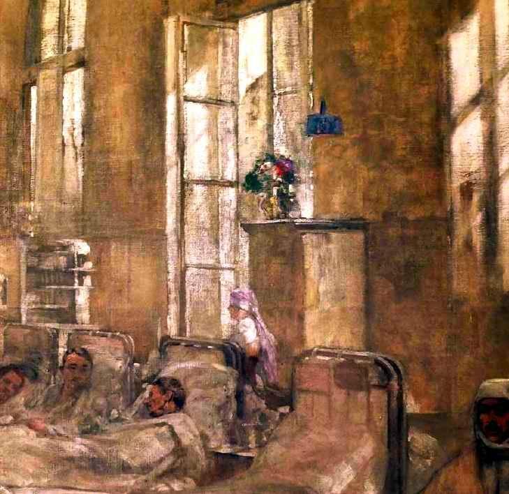Paul Prévot. La salle III de l'hôpital Grand Palais