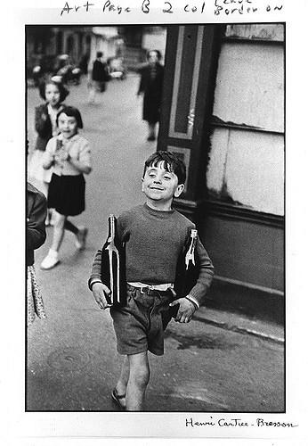 Henri Cartier-Bresson - Rue Mouffetard