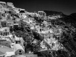 Ode à Santorin – Photographies en Noir et Blanc