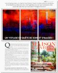 Maison et Jardin - Juin 2018 - Article Frank Lovisolo-Guillard