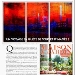 L'article dans le Magazine «Maison & Jardin » Juin 2018