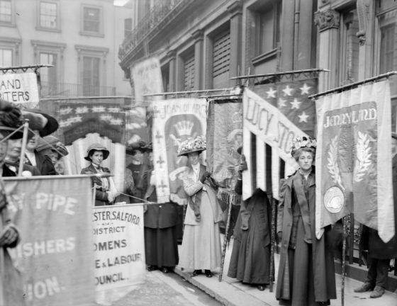 Christina Broom Suffragettes