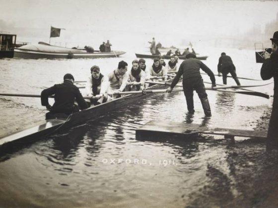 Broom Boat Race