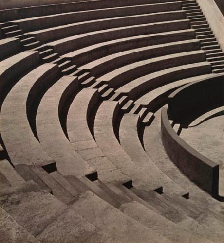 Mills College Amphitheatre, ca. 1920 - Imogen Cunningham