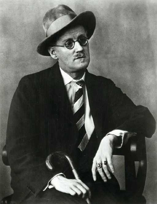 James Joyce 1928 - Berenice Abbott
