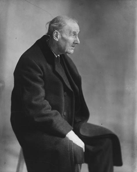 Portrait d'Eugène Atget - Berenice Abbott