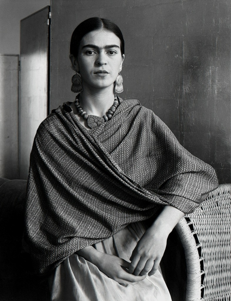 Frida Kahlo Rivera, 1931- Platinum and Palladium Print on Archival Paper - Imogen Cunningham