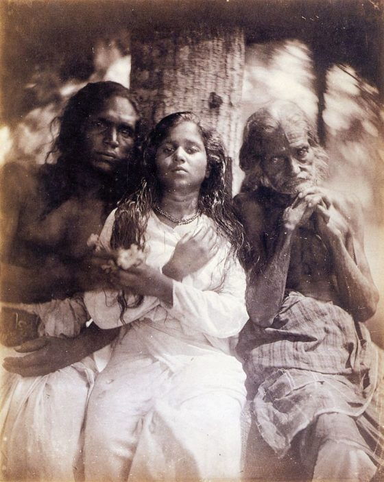 A Group of Kalutara Peasants 2, by Julia Margaret Cameron 1875