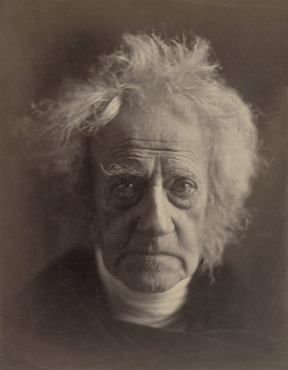 John Herschel by Jula Margaret Cameron, Abril 1867