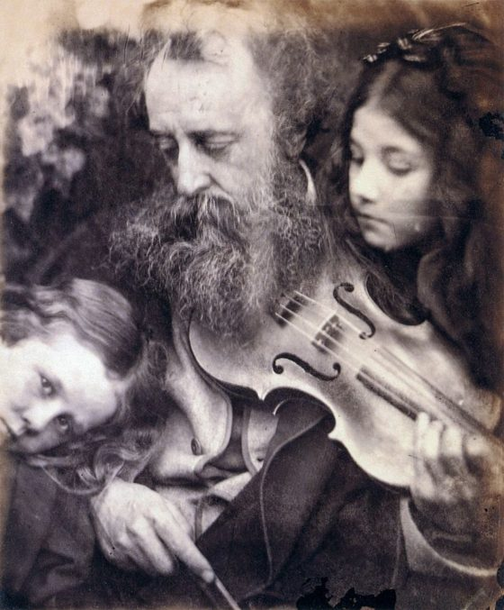 The Whisper of the Muse, by Julia Margaret Cameron (1865)
