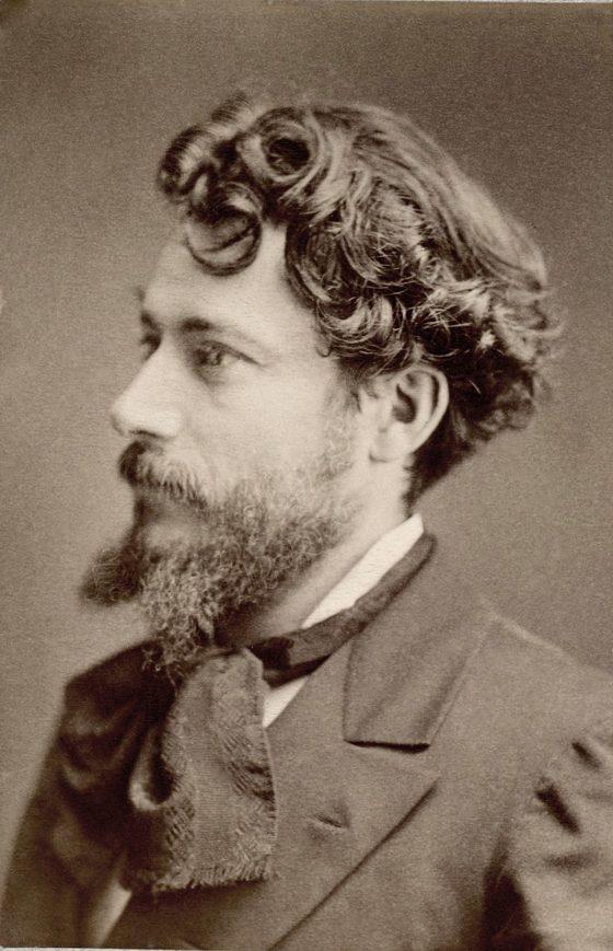 Jean Aicard par Nadar vers 1890.