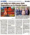 Var Matin Article du 4 mars 2019