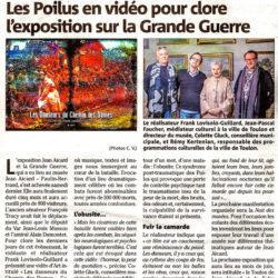 «Les Danseurs du Chemin des Dames» au Musée Jean Aicard: l'article dans Var-Matin