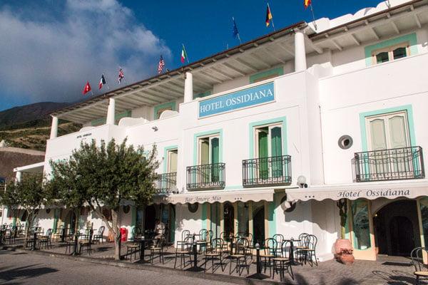 Stromboli-Hotel Ossidiana