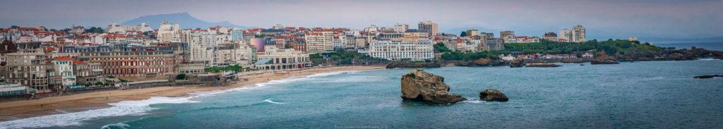 Biarritz et Eugenia Errazuriz