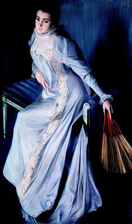 Portrait Eugenia Errazuriz . Jacques-Emile Blanche