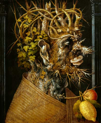 L'hiver - Giuseppe Arcimboldo - citrons