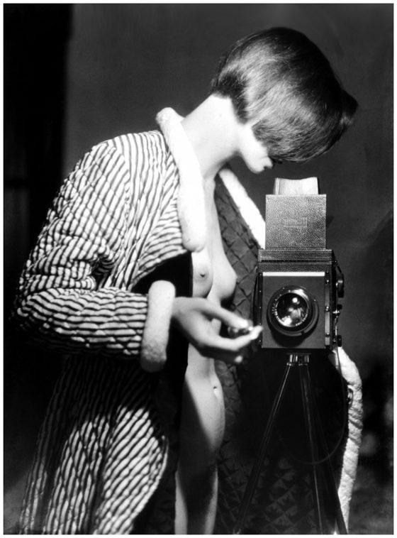 Marianne Breslauer, Selfportrait, berlin 1933©Estate of Marianne Breslauer