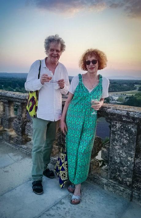 Emmanuelle Grangé et Thierry Bosc