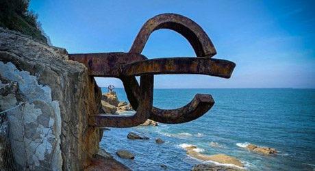 San sebastian - Peine-del-viento-de-Eduardo-Chillida