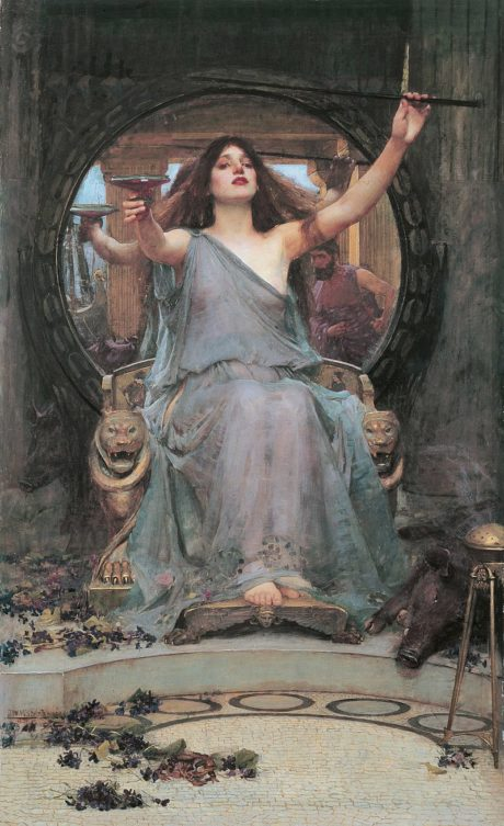 Circé offrant la coupe à Ulysse