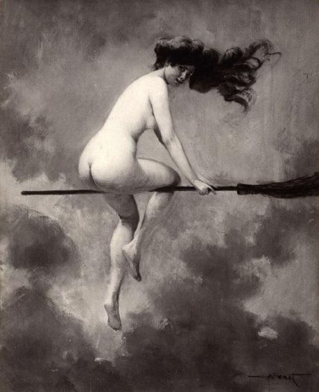 Albert Joseph Pénot -Départ pour le sabbat (1910)