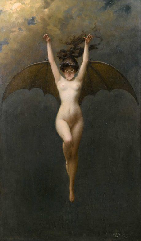 Albert Joseph Pénot - La Femme Chauve-Souris (1890)