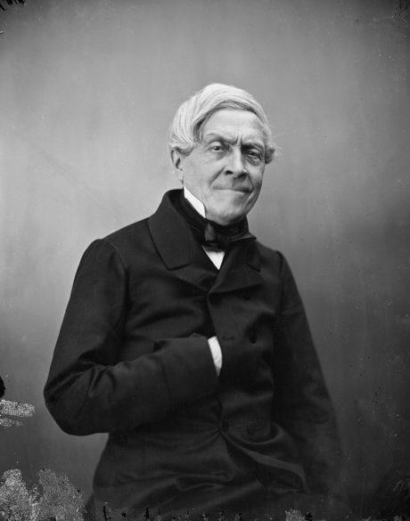 Jules Michelet photographié par Nadar, vers 1855-1856.