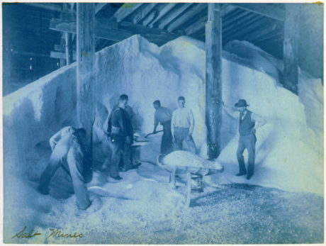 Mine de Sel vers 1893 -Frances Benjamin Johnston