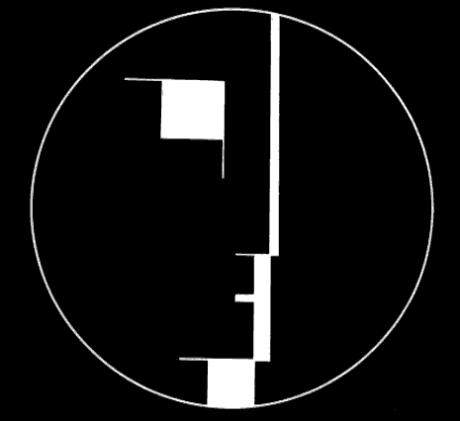 Logo du Bauhaus, créé en 1922 par Oskar Schlemmer.