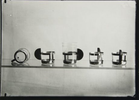 Tea Glass Holders designed by Max Krajewski in 1924, image © Lucia Moholy Estate/Artists Rights Society (ARS), New York/VG Bild-Kunst, Bonn