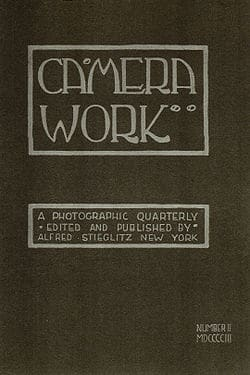 Cover of Camera Work, No 2, 1903. Cover design by Edward Steichen.