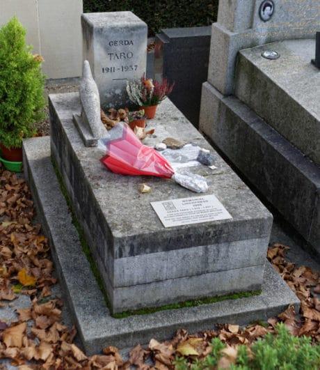 Alberto Giacometti: Tomb of Gerda Taro