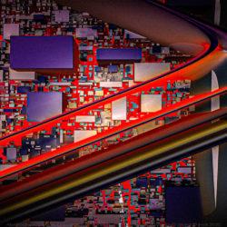 Le dédale du photographe – composition en quatre strates