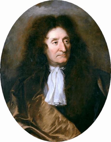 Hyacinthe Rigault - Portrait de Jean de la Fontaine (1675 et 1685)