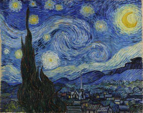 La Nuit étoilée - Vincent Van Gogh - 25 mai 1889
