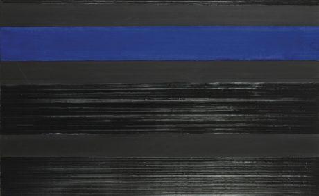 Pierre Soulages (N. 1919), Peinture 81 x 130 cm, 22.02.06.