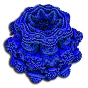 Image réalisée avec le Logiciel de rendu fractal Mandelbulb 3D