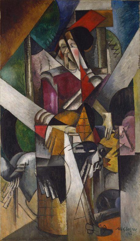 Albert Gleizes, 1914, Femme aux animaux