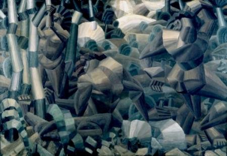 Fernand Léger Nus dans la forêt, 1909-1911
