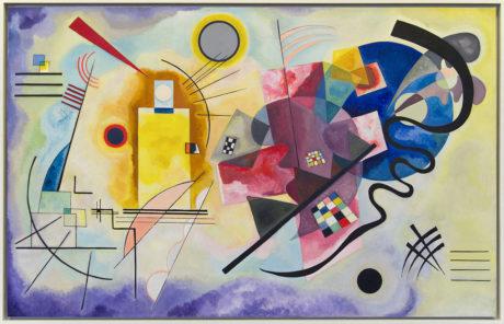 Vassily Kandinsky -  Jaune – rouge – bleu (1925)