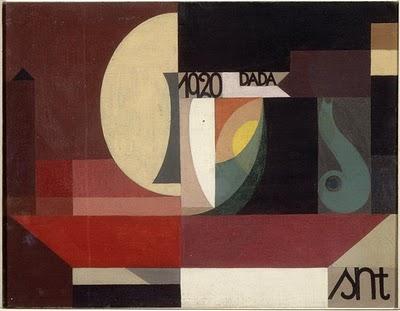 Sophie Taeuber Arp Composition Dada 1920
