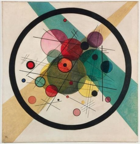 Vassily Kandinsky -  Cercles encerclés (1923)