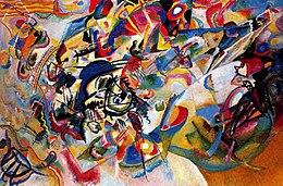 Vassily Kandinsky 1913 Composition7