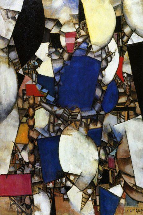 Fernand Léger - La Femme en Bleu 1912.