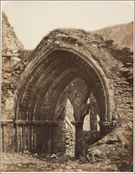 Abbaye de Saint-Mathieu, la Chapelle 1856